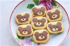 卡通小熊曲奇饼干