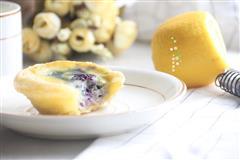 快手蓝莓豆浆蛋挞