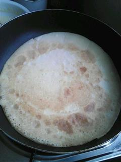 豆浆鸡蛋饼