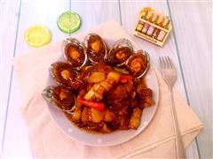 吃货福利-鲍鱼红烧肉