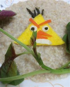 愤怒的小鸟鸡蛋饼