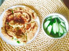 燕麦黄瓜鸡蛋饼