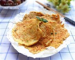 土豆胡萝卜软煎饼