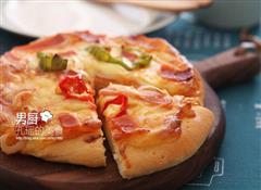 什锦培根披萨