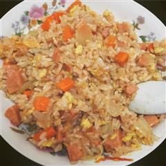 简易美味蛋炒饭