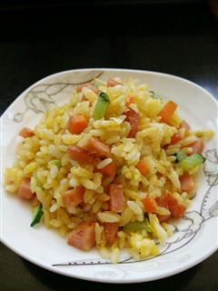 快速早餐-蛋炒饭