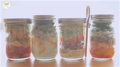 罐子沙拉的3+1种有爱吃法