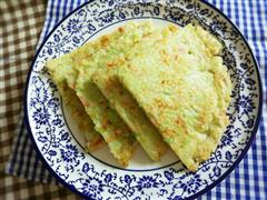 快手早餐-甘蓝火腿鸡蛋饼