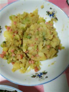 简单好吃的炒土豆泥