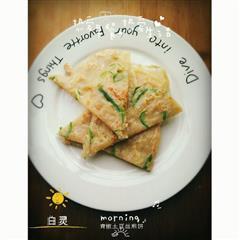 青椒土豆丝煎饼