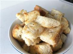 黄油炒面包小方