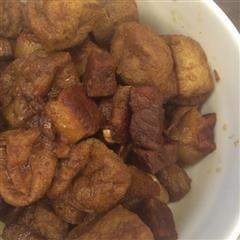 铁锅红烧肉