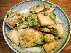 豆腐西施鸡蛋饼