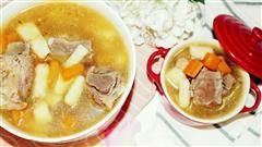 对孩子特别好的汤汤水水,能预防夏季病山药排骨汤