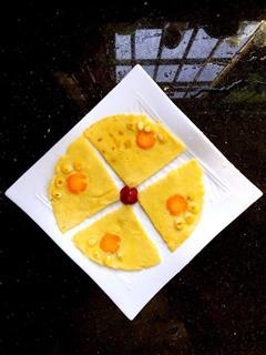 牛奶鸡蛋饼