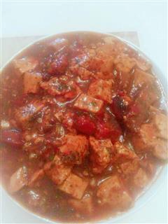 麻婆豆腐红烧肉