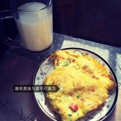 嘤嘤嘤超适合早餐哒西葫芦鸡蛋饼