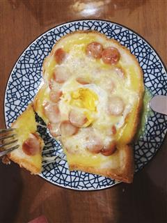 快手早餐披萨
