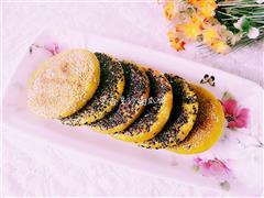 芝香豆沙南瓜饼
