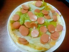 电饭煲制披萨