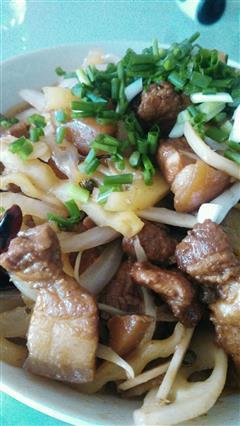 干锅红烧肉