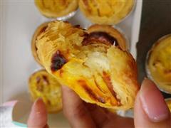 榴莲蛋挞和黄桃蛋挞