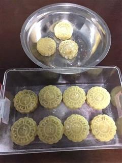 芒果莲蓉冰皮月饼