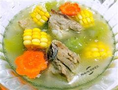 时蔬排骨汤