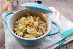 白玉菇蛋炒饭