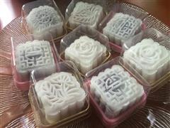 栗子/香芋冰皮月饼