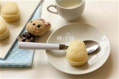 卡通冰皮月饼(椰香奶黄馅)