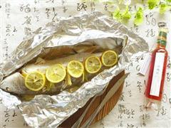 柠香锡纸包烤鱼