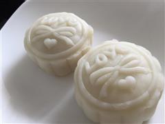 中秋节小清新-冰皮月饼