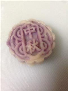 蔓越莓黑糖紫薯冰皮月饼