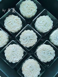 白富美冰皮月饼