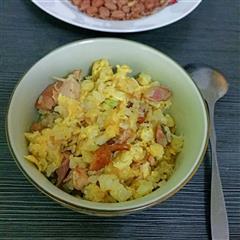 鸡肉鸡蛋炒饭