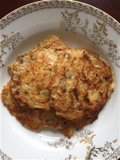 胡萝卜土豆鸡蛋饼