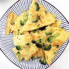 西兰花鸡蛋饼-22个月辅食