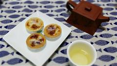 脆皮紫薯蛋挞