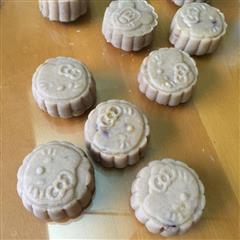 榴莲椰蓉冰皮月饼 绿豆红枣冰皮 奶黄蔓越莓冰皮月饼