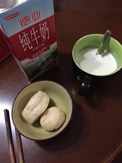 红枣牛奶馒头