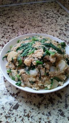 小白菜土豆泥