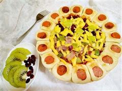 花边双拼披萨