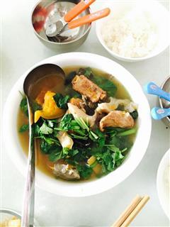 老南瓜排骨汤