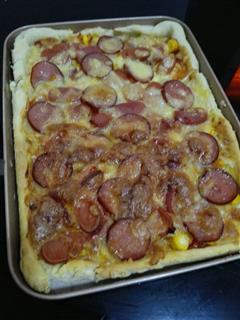 肘花田园披萨
