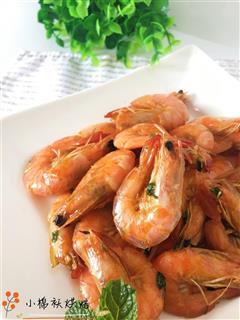 香葱油焖大虾