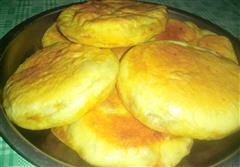 猪肉大葱煎饼