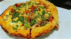 土豆红薯披萨
