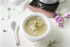 萝卜虾米排骨汤