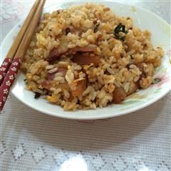 回锅肉蛋炒饭